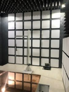 Read more about the article 5m Semi-Anechoic Chamber 半電波暗室